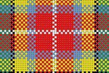 Scotland & tartan pattern...
