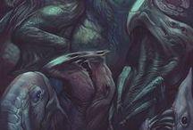 Monsters Inspiration&Tutorials