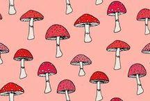 Mushroom Pattern ~T~