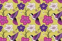 Birds Pattern ⊙> Ѽ <⊙