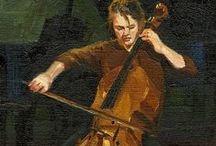 ART - Music paintings / #art #painting #music