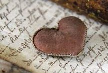 "Love Letters ♥♥ / ""99% of natural poets discovered their talents through love letters.""  (Michael Bassey Johnson)"