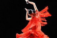 Flamenco (the dancing expression) / flamenco dancers around the world