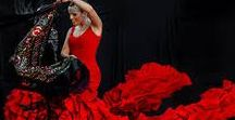 Flamenco (the dancing expression) / flamenco dancers around the world