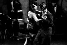 Tango dance / tango dancers and music