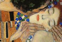 Lovers in art ♥♥ / Love Is In The Small Things: Paintings & Illustrations by many Artists.