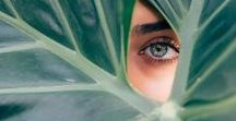 green eyes /  Less That 3% of The Human Population Have Green Eyes  #green #eyes #rare