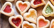 Heart Shaped Food / #heart #food #heartshapedfood #love #inlove