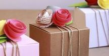 Gift wrapping ideas / DIY Gifts & Gift Wrapping