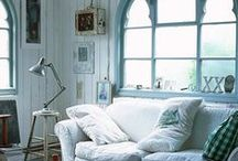 Interiors and rooms I really love. / by Christine Bletcher