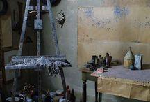 Art Studio / Storage ideas & stuido inspiration