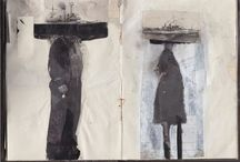 Art journals / My addiction!!  Art journal ideas & inspiration, tutorials and prompts