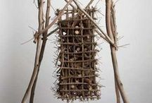 Palitos/sticks, branches & twigs / Tons of ideas to use those branches from the back yard and found pieces of wood