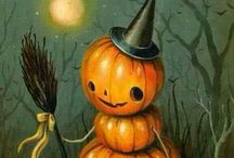 Halloween fun crafts, food treats and inspiration! / Making this halloween fun with some painting inspiration, hand made dolls, easy treats, vintage downloads and a lot more!