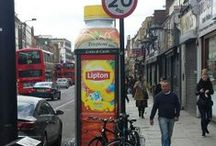 Telephone Box Advertising / As revenue continues to fall in public payphones from traditional calls, advertising is replacing the void.