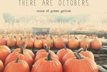 Fall decoration, inspiration & ideas / The beauty of fall in to our homes