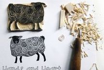 Hand carved stamps / Hand made stamps, rubber stamps, tutorials, inspiration, materials, tools