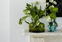 flowers | in vases / You can't have enough vases or flowers in your home