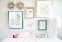 Nurseries & Kids Rooms / Inspiration for decorating baby nurseries and kid's play rooms.