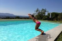 natural salt swimming pool