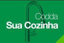 Codda: Sua Cozinha / Forma e função do design aplicados a diferentes estilos.