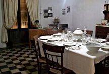 Le stanze della Casa / La casa Museo Caripa si articola su tre piani ed è formata da 10 stanze.