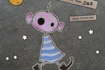 Anjo's prentenboek / 'De planeet van Jaz' is een vrolijk prentenboek met als thema:  kijk om je heen, sta open voor anderen, dan wordt alles vrolijker!  #kleuter # kind #boek #diversiteit   'De planeet van Jaz' is geschreven en geïllustreerd door  Anjo Vrieling. Het boek wordt in eigen  beheer uitgegeven en is te koop via www.vriendelijkekunst.nl.