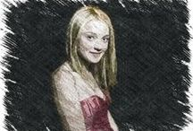 Dakota Fanning (USA) ♥ / Hannah Dakota Fanning (born February 23, 1994) is an American actress who rose to prominence after her breakthrough performance at age seven in the 2001 film I Am Sam. / by b⚡bomber™