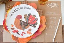 Thanksgiving / Fall is a beautiful season and Thanksgiving is all about the food, family and friends. Find the best recipes and decorations to make this holiday a hit with your family.