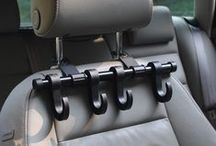 Car headrest multi hanger(single& 2-pack) / Keep your groceries off the floor!