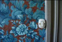 Wallpaper inspiration Villa Puller www.dimoredarte.com / interior wallpaper