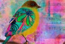 Drawing, painting & mixed media birds / Drawing and painting birds tutorials, inspiration and artwork