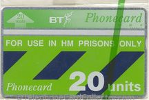BT Prison Phonecards / BT Phonecards were used in Britain's prisons from the late eighties to the early noughties. These specially encoded cards normally carrying the wording 'For Use in HM Prisons Only', couldn't be used in public cardphones.