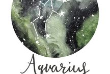 """Aquarian. / """"Aquarians always have intrigue in things out of the ordinary"""""""