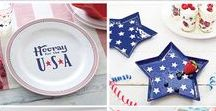 Patriotic Holidays / Celebrate America with patriotic crafts, red white and blue recipes and kid's activities. Fun 4th of July recipes and Memorial Day crafts.