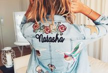 Embroidered Jackets / Its all about the embroidered denim jacket or bomber jacket this Autumn/Winter! I think Im gonna need them all!