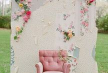 Photo Backdrops / Photo backdrop ideas for weddings, flat lays and blogging photography.