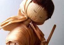Bonecas Tradicionais (motanka, sarubobo, aboymi, vodu, etc)