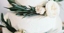 || WEDDING DESSERT INSPIRATION || / Sweet ideas and inspiration for your wedding day including dessert bars, marbled wedding cakes, classic wedding cakes, donut bars, cake pops, wedding cakes with greenery and wedding cakes with flowers.