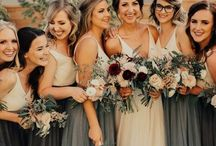 || HUES OF BLUES || / Ways to incorporate blues into your wedding day inspiration including blue wedding dresses, blue wedding skirts, blue bridesmaid dresses, blue wedding flowers and blue wedding decor.