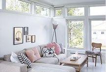 Interior Inspiration / Stylish, yet refined interior design.