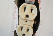 Ugly Outlets / A gaggle of very ugly outlets.