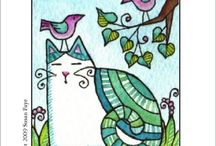 Cats & Dogs Art