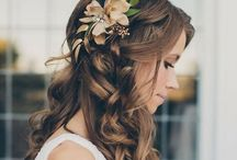 wedding HAIR STYLE / some inspiration for your bride hair style