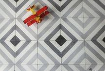 Hand made cement tiles on order 3 / Tiles, cement tiles, decorated tiles, handmade tiles