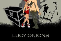 Lucy Onions Author / I'm an author as well, you know. I'll keep you updated on here with all my booky-wooky goings on.