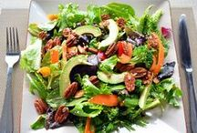 Satisfying Salads - Gluten and Dairy-Free! / Gluten and dairy free salads with homemade dressings...Naturopathic Doctor Approved!