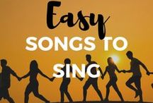 Easy Songs to Sing for Beginners / Are you looking for an easy song to sing for your next audition or performance? These pins will inspire you to find your next hit.