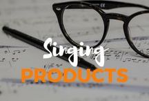 Singing Products / Find out more about some programs and products for singers.