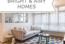 Bright Airy Homes / If you like the bright and airy vibe at home, you will definitely love these homes that are quintessentially minimalist at their core.